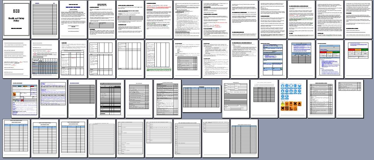 all pages from health and safety policy